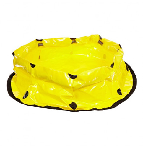 UltraTech Pop Up Pool  - 100 Gallon - Sprung Steel Model.  Includes storage bag. - 8100-YEL