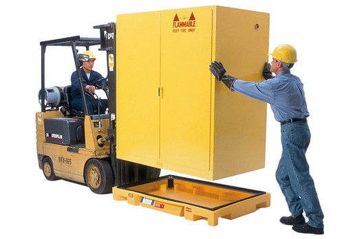 UltraTech Safety Cabinet Bladder System  - Containment Unit for Two Drum (Vertical) Safety Cabinets - 2421