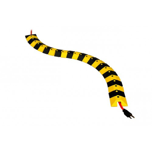 UltraTech Ultra -Sidewinder - 24 Ft System with Endcaps - Black and Yellow - 1820