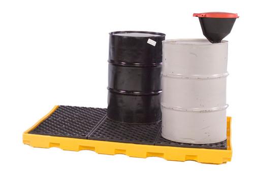 UltraTech Spill Deck P6:  One -Piece 6 -drum Spill Deck - 1175
