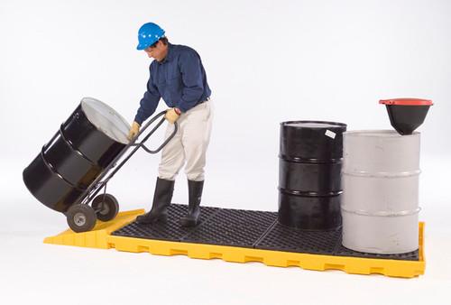 UltraTech Spill Deck P8 - One -Piece 8 -drum Spill Deck - 1075