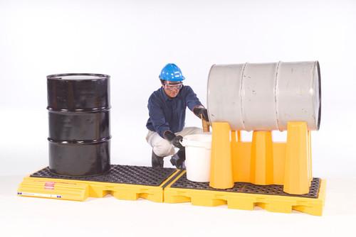 UltraTech Spill Deck - InLine  - 4 -Drum Model - 2361