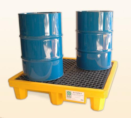 UltraTech Spill Pallet P4 - No Drain - Yellow - 1000