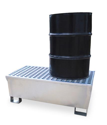 UltraTech Ultra -Steel Spill Pallet - 2 Drum - 1180