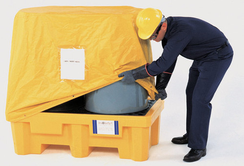 UltraTech Pullover Cover for Spill Pallet P2 (fits P/N 2504 - 2505 - 1010 - 1011) - 1016