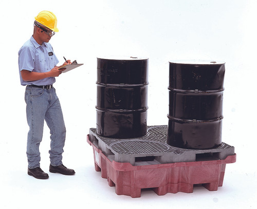 UltraTech Spill King With Drum Pallet - With Drain - 0802