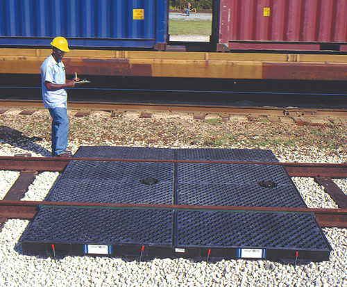 UltraTech Track Pan - Center Pan - w/ Grates & Stormwater Feature - 9564