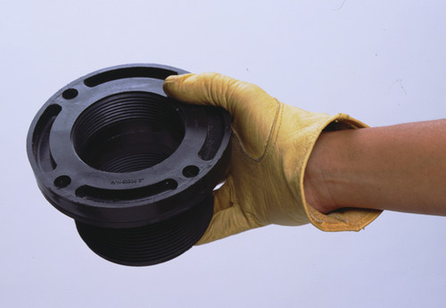 """UltraTech Track Pans  -  3"""" Drain Fitting For Below Grade Piping - 9559"""