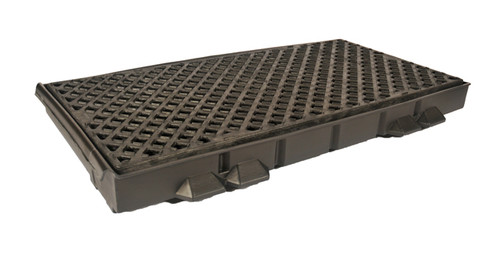 UltraTech Ultra -Track Pan - Crude Oil Model - Side Pan With Grate - 7576