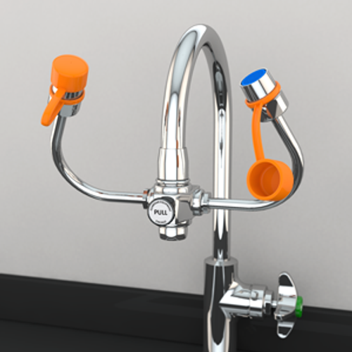 Guardian EyeSafe-X™ Faucet-Mounted Eyewash - G1101