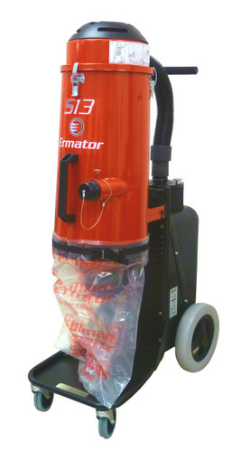Ermator S13 Single Phase HEPA Dust Extractor Vacuum 120V - 200900058A