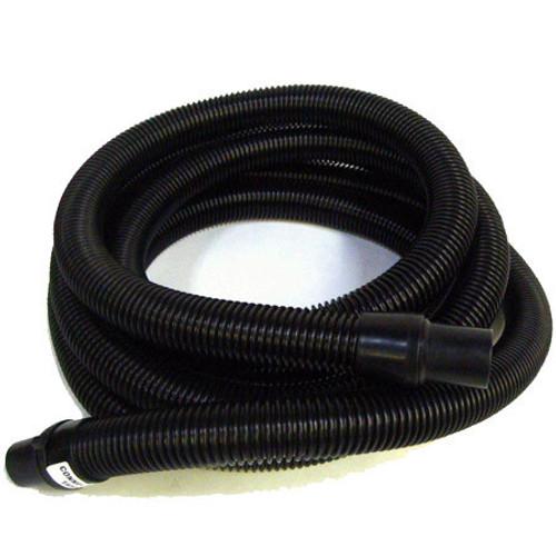 """Ermator T-Line Hard Black Hose 2"""" x 25 ' with Ends - 1225083"""