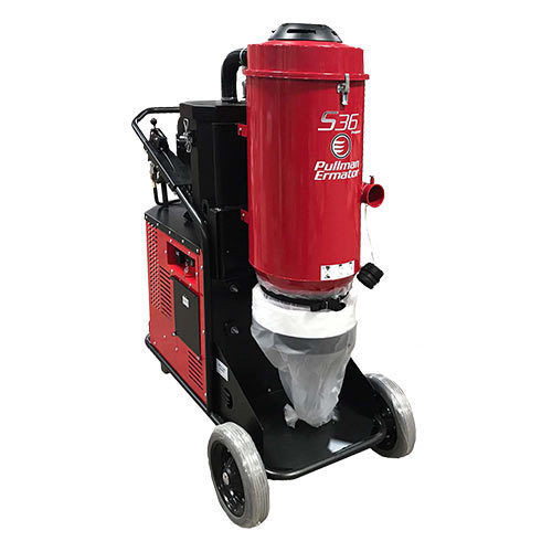 Ermator S36 Propane Powered HEPA Dust Extractor - 201000671E