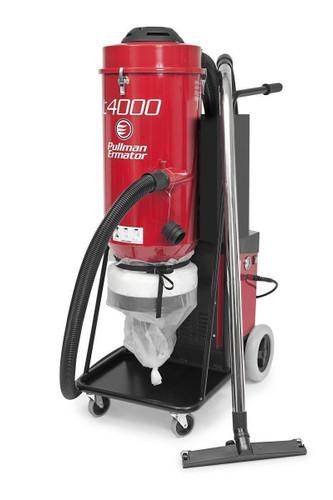 Ermator T4000 3-Phase HEPA Dust Extractor - 201000671C