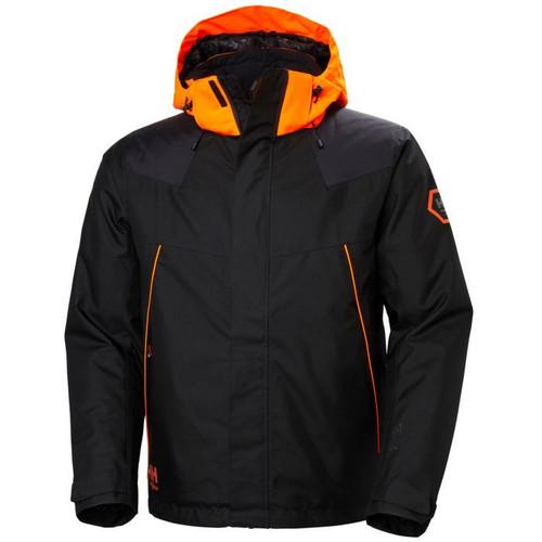 Helly Hansen Chelsea Evolution Winter Jacket - 71340 - Ebony  3XL-4XL