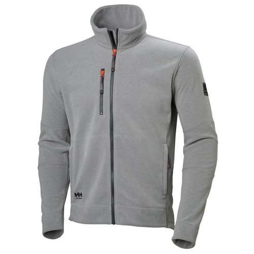 Helly Hansen Kensington Fleece Jacket - 72158 - Grey  3XL-4XL