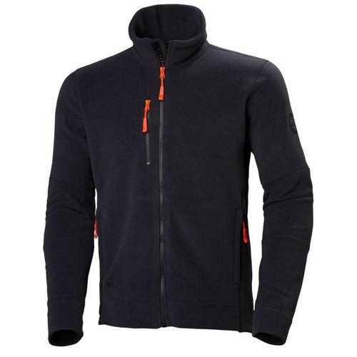 Helly Hansen Kensington Fleece Jacket - 72158 - Black  3XL-4XL