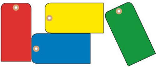 TAGS, BLANK, YELLOW, 1 7/8X3 3/4, CARDSTOCK