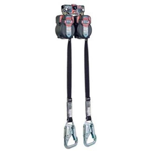 Miller 7.5 ft Turbo Tie Back Twinbak Personal Fall Limiter - MFLTB-1/7.5FT