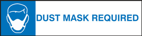 Changeable Sign System: Dust Mask Required - DTH801