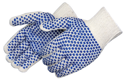 Standard Blue Block Coated Gloves