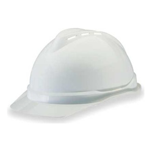 MSA Vented V-Gard White Ratchet Suspension - 10034018