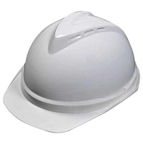 MSA Top-Gard White Staz-On Hard Hat - 454728