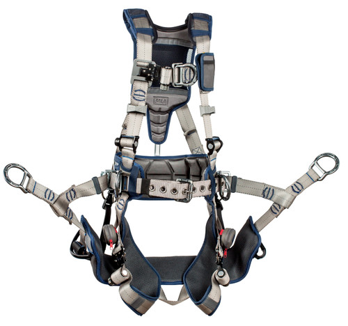 3M DBI-SALA ExoFit STRATA Tower Climbing Harness 1112581 - Medium
