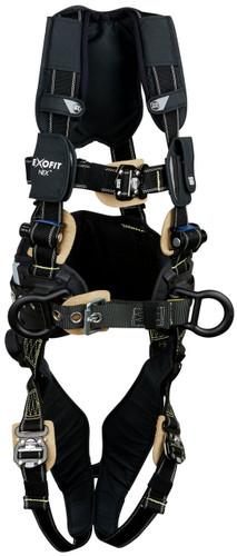 3M DBI-SALA ExoFit NEX Arc Flash Construction Style Positioning Harness 1113317 - Black - Large