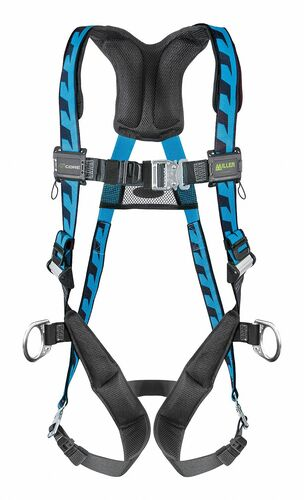 Miller AirCore Steel Hardware Blue Harness w/Side D-Rings - Universal (Large/XL) - AC-QC-D/UBL