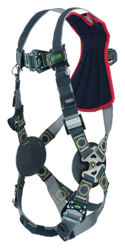 Miller Revolution Arc-Rated Kevlar/Nomex Harness with Front D-Ring Tongue Leg Strap - Universal - RKNARFD-TB/UBK