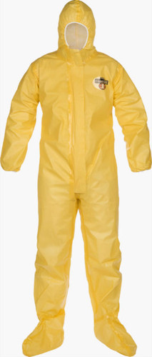 Lakeland ChemMax 1 Sealed Seam Coverall - Respirator-fit hood - C1T151Y