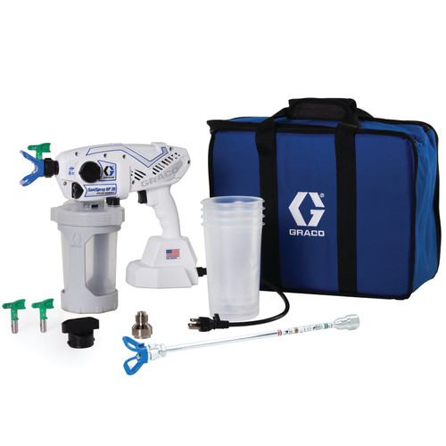 Graco SaniSpray HP 20 Corded Handheld Airless Disinfectant Sprayer Package - 25R790