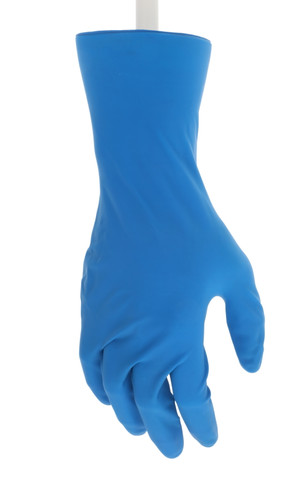 MCR Sensatouch Disposable Gloves 11 mil Latex 12 Inch Powder Free Medical Grade - Size Small 5049S - 50/Box