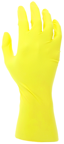 MCR 6 mil Nitrile Textured Grip Powder Free Disposable Glove 6046Y2S - Small - 100/Box