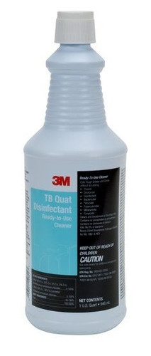 3M TB Quat Disinfectant Ready-To-Use Cleaner 1-Quart - 59809