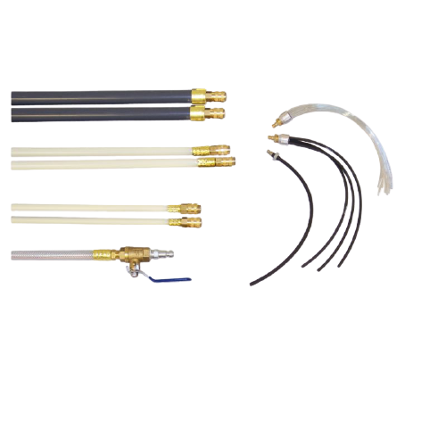 Super Whip Basic Rod Air Duct Cleaning System - 1-SW01