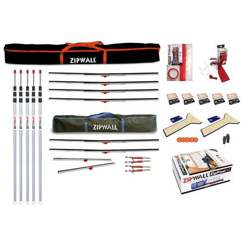ZipWall Complete Dust Barrier Toolkit - ZWTK