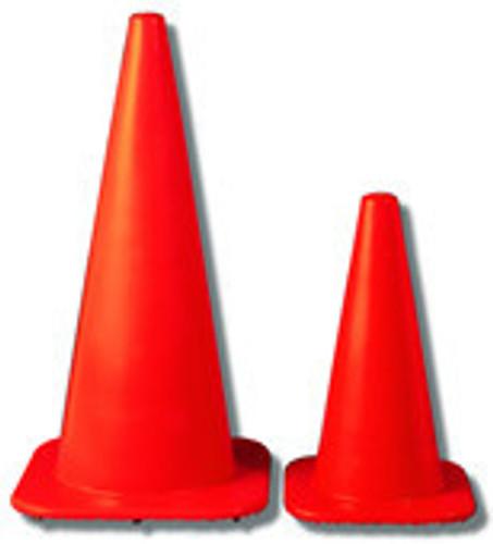 """Orange Safety Cone 28"""" W Series"""