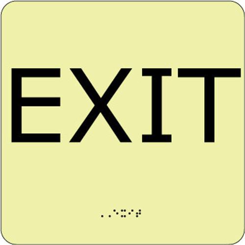EXIT, 8X8, GLOW ADA