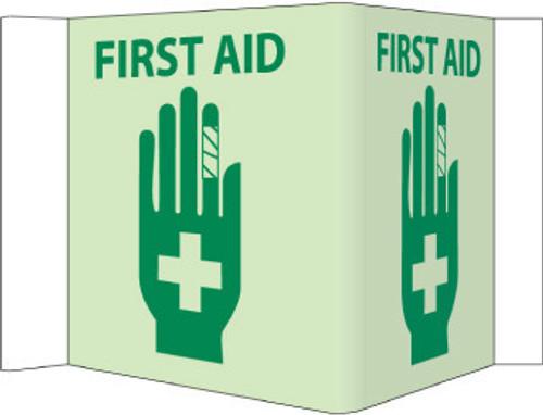 VISI, FIRST AID, 5.75X8.75, ACRYLICGLOW