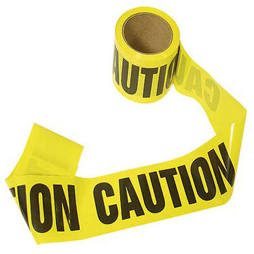 Caution Barrier Tape