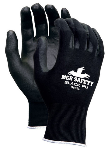 MCR Memphis Economy Nylon Shell/PU Palm - Dozen - 9669 [S-XL]