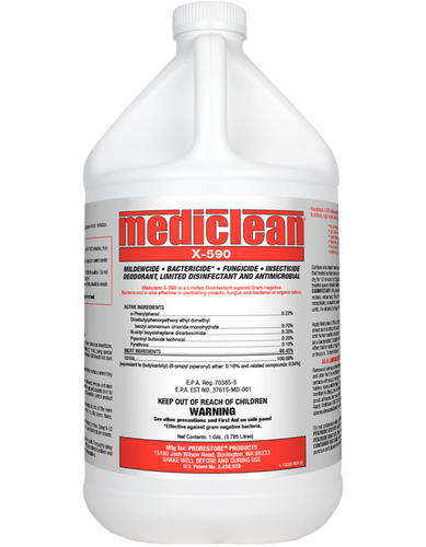 ProRestore Mediclean X-590 Ready To Use - 1 Gallon - 221552000