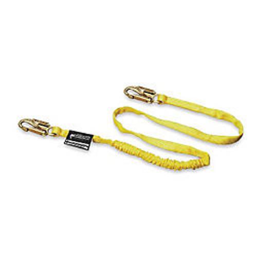 Miller Manyard 6-ft Single Leg Lanyard w/ 2 Locking Snap Hooks - 216WLS-Z7/6FTYL