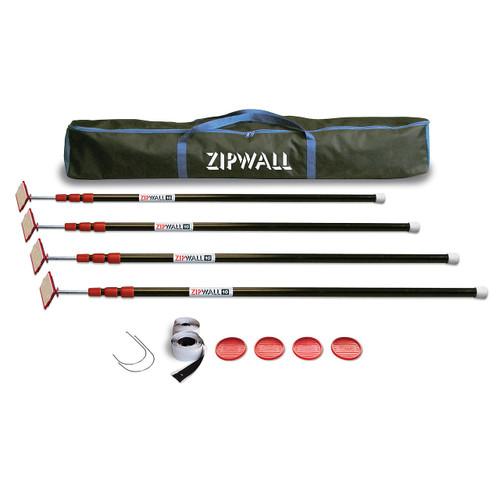ZipPole ZipWall 10 – 4-Pack - ZP4