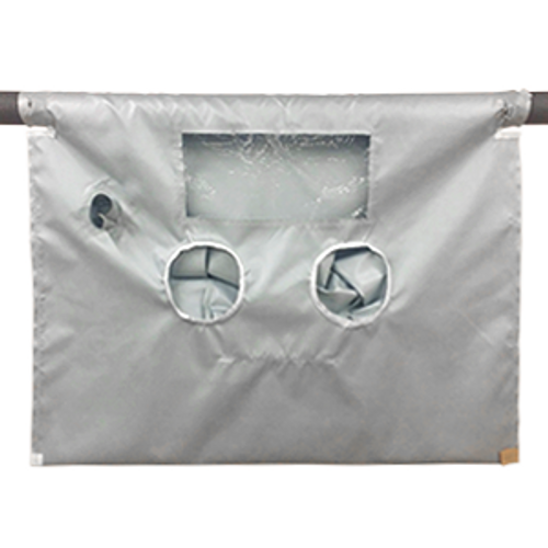 "High Temperature Glove Bag 400°F 72""x120"""