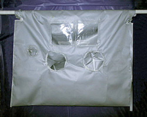 "High Temperature Glove Bag 700°F 72""x96"""