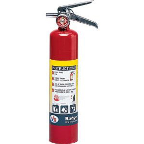 Badger™ Extra 2 1/2 lb ABC Fire Extinguisher w/ Vehicle Bracket