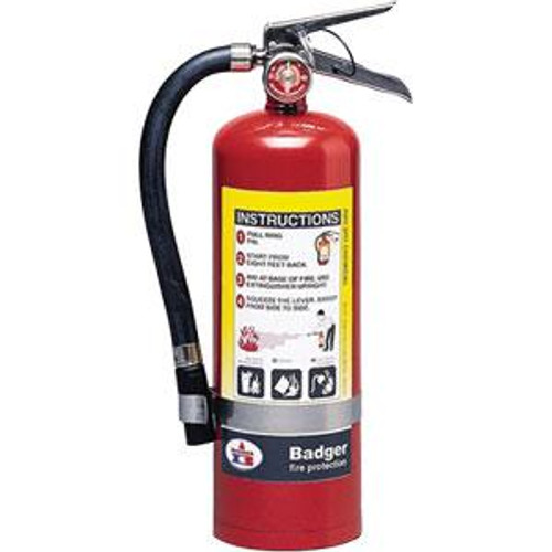 Badger™ Extra 5 lb ABC Fire Extinguisher w/ Wall Hook